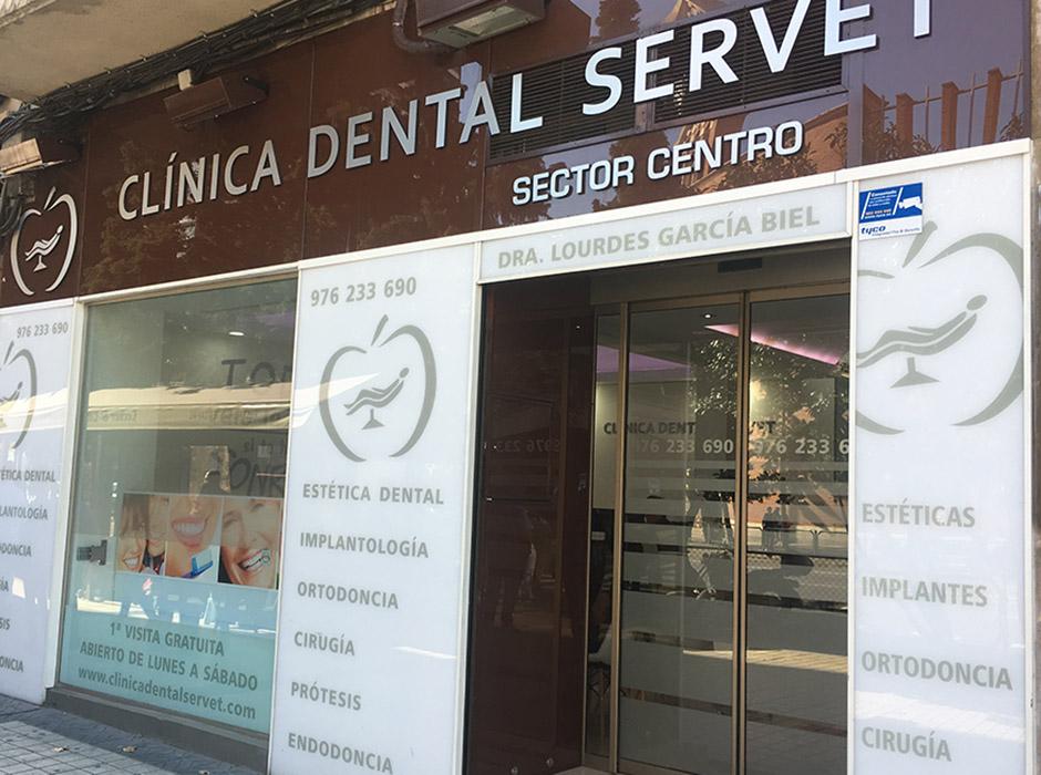 Clínica dental Servet Centro